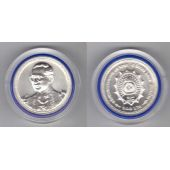 THAILAND - RARE SILVER 600 BAHT UNC COIN 2002 YEAR Y#389 75th KINGS BIRTHDAY