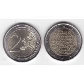 PORTUGAL - NEW ISSUE BIMETAL 2 EURO UNC COIN 2018 YEAR 250th ANNI