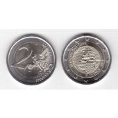 SLOVENIA - NEW ISSUE BIMETAL 2 EURO UNC COIN 2018 YEAR MAP