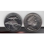 SOUTH GEORGIA & SANDWICH ISLANDS - 2 POUNDS UNC COIN 2006 HUMPBACK WHALE