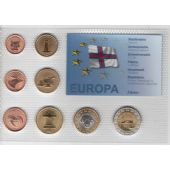 FAEROE - PROBE PATTERN ESSAI 8 DIF SET 0.01 - 2 EURO 2004 YEAR