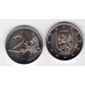 LATVIA - NEW ISSUE BIMETAL 2 EURO UNC COIN 2016 YEAR VIDZEME