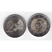 FRANCE - NEW ISSUE BIMETAL 2 EURO UNC COIN 2015 YEAR 225th ANNI FETE FEDERATION