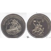 LIBERIA – 10$ UNC COIN 1984 YEAR INTERNATIONAL GAMES BASKETBALL