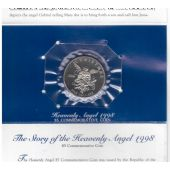 MARSHALL ISLANDS – 5$ UNC COIN 1998 YEAR KM#481 CHRISTMAS HEAVENLY ANGEL