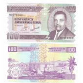 BURUNDI - NEW ISSUE 100 FRANCS UNC BANKNOTE 2011 YEAR SMALL SIZE