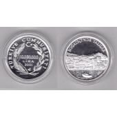TURKEY SILVER PROOF 10000000 10 MILLION LIRA COIN 2001 YEAR KM#1159 YALILAR BOAT